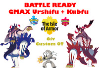 Kubfu + 2 Urshifu Gmax - Pokemon Sword Shield Isle of Armor - Your OT -FAST DLVR