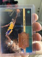 KOBE BRYANT Rare1998-99 UPPER DECK SPx FINITE CARD  #50 #d 2825/10000 Lakers HOF
