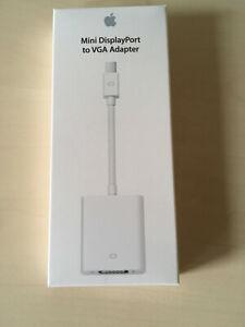 ++++ Apple  Mini DisplayPort to VGA Adapter +++ MB572Z/B +++ NEU ++ OVP