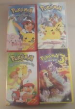 pokemon videos bundle x4 - pokemon video lot x4