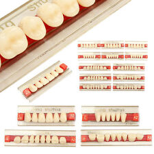 3 Set of 84*1 Acrylic Resin Denture Teeth VITA Color A2 Upper Lower Shade Dental