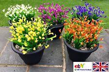 Plastic Outdoor Flower Fake false Plant Artificial Garden lily tulip winter #229