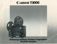 CANON T3000 - Bedienungssanleitung  B1885