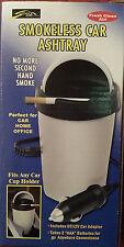 Smokeless Car Ashtray 12v Cigarette Adapter Cigar Smoke Auto Battery Operated