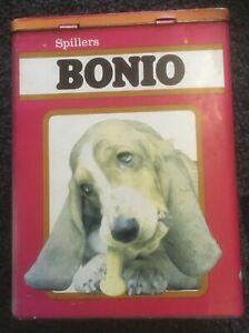 VINTAGE BONIO DOG BISCUIT COLLECTORS TIN