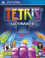 PSV Tetris Ultimate PlayStation Vita Brand New Factory Sealed