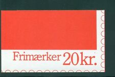 Denmark 1988 20 Kr Booklet Facit H53 print 31