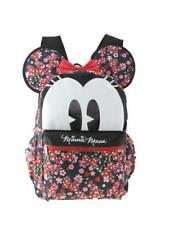 "Disney Minnie Mouse 16"" 3-D Style School Backpack For Women Or Girls"