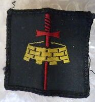 Patch- London District Formation Sign Arm Cloth Patch / Badge (Used)