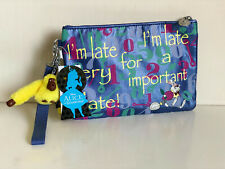 KIPLING DISNEY'S ALICE IN WONDERLAND ELECTRONICO DOWN THE RABBIT HOLE POUCH BAG