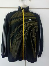 Adidas F50 Black Track Top Size Youth Small AdultTracksuit Jacket Football
