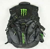 Monster Energy Backpack Black 4282N A-3 Polyester Bag Monster Energy Logo Japan