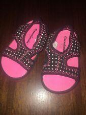 Girls Toddler Size 3 Garanimals Pink Black Sandals Water Shoes