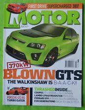 Motor Feb 2007 Mitsubishi TMR 380 Monaro VXR 500 WP 370 GTS  WP Astra SRi GT3 RS