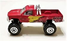 Matchbox Red Ford K-150 Monster Truck With Tampos - Nice Condition