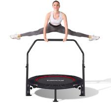 Toncur Mini Trampolino Elastico Ø 102cm Trampolino Fitness Pieghevole 150kg