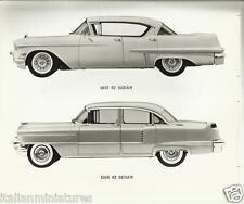 Cadillac 1967 62 Sedan and 1956 62 Sedan Original Press Photograph