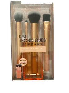 Real Techniques Flawless Base - Foundation Buffing Contour - Brush Set #91533