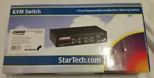 Starview 4 port KVM Switch SV431 Excellent condition