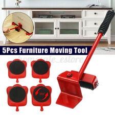 Heavy Furniture Shifter Lifter Wheels Moving Kit Slider Mover Easy Move Removal