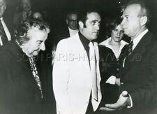 GOLDA MEIR YITZHAK RABIN OPERATION THUNDERBOLT 1974 VINTAGE PHOTO ORIGINAL #3