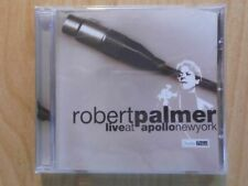 ROBERT PALMER CD: LIVE AT APOLLO NEW YORK (Documents– 223172-205)