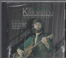 KRIS KRISTOFFERSON LIVE  AT  THE PHILHARMONIC Monument NEW CD