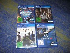 PlayStation 4 Starterpaket Sammlung PS4 VR Spiele Drive Hours Star Trek usw.