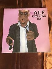Vintage Alf The Alien Tv Show 1988 Calendar
