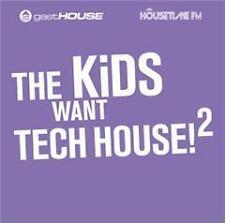 CD The Kids Want Tech House 2 von Various Artists 2CDs