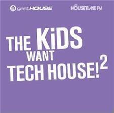 CD The Kids want Tech House 2 di Various Artists 2cds