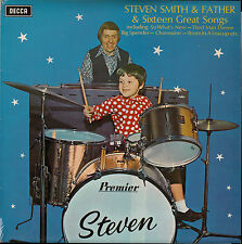 STEVEN SMITH & FATHER AND SIXTEEN GREAT SONGS - LP Decca 1972 Opportunity Knocks
