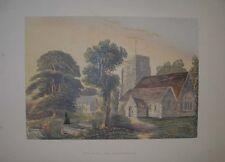 1869 Santa Trinità, Penn, Buckinghamshire SIDNEY Angolo Antico litografia a colori