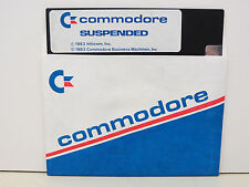 SUSPENDED    DISK ONLY COMMODORE 64/128 Tested Runs  NEW FACTORY SURPLUS ....#1