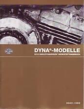 HARLEY original Werkstatt Handbuch 2010 FXD Dyna Modelle in DEUTSCH Anleitung