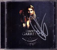 David GARRETT Signiert ROCK SYMPHONIES Mission Impossible Vertigo CD Autograph