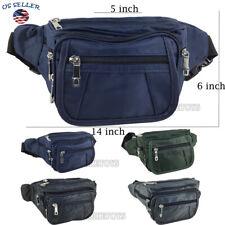 Fanny Pack Men Women Waist Belt Bag Purse Hip Pouch Travel Sport Bum (6306)