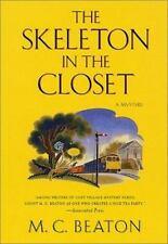 The Skeleton in the Closet Beaton, M. C. Hardcover