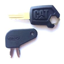 CAT - Caterpillar Equipment Key Set - Ignition and Master Disconnect with Logo