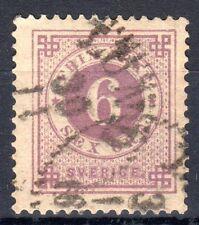 Sweden - 1886 Definitives Numeral - Mi. 33 FU
