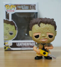 Horror Movie The Texas Chainsaw Massacre Leatherface #11 PVC Figure With Pop Box