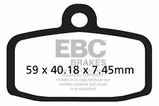 FIT SHERCO  ST 305 (2T/Formula Calipers) 13>15 EBC FRONT ORGANIC BRAKE PADS