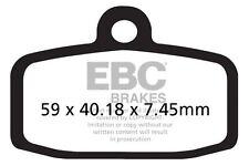 FIT SHERCO  ST 305 (2T/Formula Calipers) 13>15 EBC FRONT ORGANIC BRAKE PADS