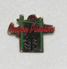 D24 PIN BADGE RUGBY CLUB  PASSION   RARE FOOT   free ship on all add pins