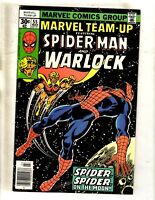 Lot Of 8 Marvel Team-Up Comic Books # 55 57 79 81 82 83 84 85 Spider-Man JF14
