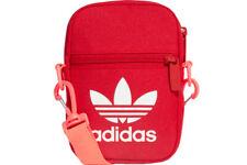 Adidas Originals Trefoil Crossbody Shoulder Festival Bag Red Unisex Men Womens