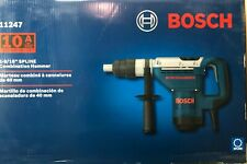 Bosch 11247 Spline 1 9/16 Combination Rotary Hammer Drill New in Case