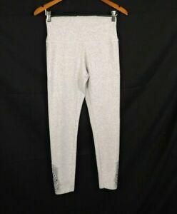 Aerie Gray Women Stretchy Waist Leggings Size M