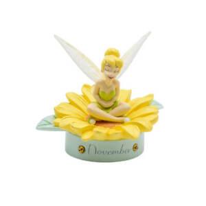 Disney Gifts - Tinker Bell: Birthstone Sculpture - November - Polyresin