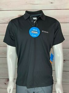 Columbia City Voyager™ Polo TEE SHIRT US Sizes in Black